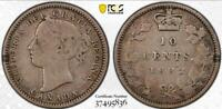 CANADA 1882 H 10 CENTS PCGS VG10