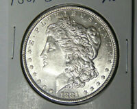 AU 1881-O MORGAN SILVER DOLLAR ABOUT UNCIRCULATED NEW ORLEANS 62321.2