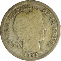 1895-S BARBER DIME GREAT DEALS FROM THE EXECUTIVE COIN COMPANY