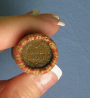 ONE UNOPENED ROLL INDIAN HEAD CENT PENNY  FROM ESTATE LOT CO