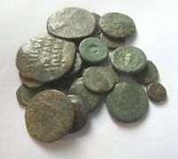 A LOT OF 20 X GREEK ROMAN AND BYZANTINE  AE COINS