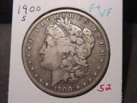 1900-S MORGAN DOLLAR F  VF BETTER DATE COMBINED SHIPPING