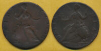 >>EXCLNT<< 1775 REVERSE BROCKAGE COLONIAL HALFPENNY BETTER E