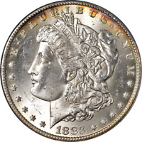 1883-CC MORGAN SILVER DOLLAR PCGS MINT STATE 64 SUPERB EYE APPEAL STRONG STRIKE