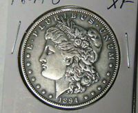 1894-O MORGAN SILVER DOLLAR EXTRA FINE  NEW ORLEANS MINT COIN  FINE 72021