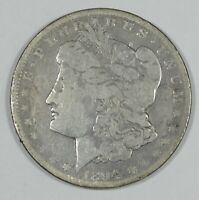 ALTERED 1894-O OR S  MORGAN DOLLAR  GOOD SILVER DOLLAR  M/M REMOVED