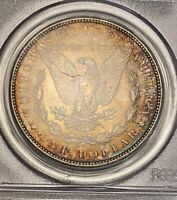 1887 MORGAN SILVER DOLLAR PCGS-MINT STATE 63 TONED