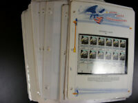 US MNH STAMPS 1980  1984 $244 FACE VALUE COMMEMORATIVE BLOCK
