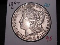 1897-O MORGAN DOLLAR AU  BETTER DATE COMBINED SHIPPING