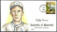 LEFTY GROVE HOF A'S LEGENDS OF BASEBALL COLLINS HAND PAINTED