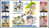 RUTH/GEHRIG/JACKIE ROBINSON/CLEMENTE SUPER  COLLINS HAND PAI