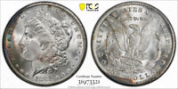 1881 CC $1 MORGAN DOLLAR PCGS MINT STATE 65 UNCIRCULATED CARSON CITY MINT TONED