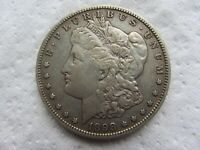 1898-S MORGAN SILVER DOLLAR  KEY DATE HIGH GRADE DETAIL CLEANED