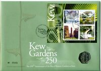 2009 KEW GARDENS M/S GREAT BRITAIN ROYAL MINT/MAIL FDC  UK S