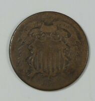 1871 TWO-CENT PIECE GOOD 2-CENTS