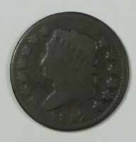 1812 SMALL DATE CLASSIC HEAD LARGE CENT GOOD 1C