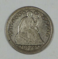1853 LIBERTY SEATED HALF DIME WITH ARROWS AT THE DATE  FINE SILVER 5C