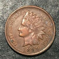 1899 INDIAN CENT - HIGH QUALITY SCANS J706