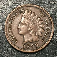 1899 INDIAN CENT - HIGH QUALITY SCANS J707