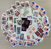 200 SINGLES & PAIRS US FOREVER POSTAGE NEVER USED FACE VALUE