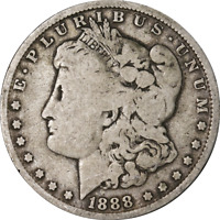 1888-O MORGAN SILVER DOLLAR - VAM 4 - HOT LIPS GREAT DEALS FROM THE EXECUTIVE CO