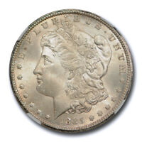 1885 CC $1 MORGAN DOLLAR NGC MINT STATE 65 UNCIRCULATED CAC APPROVED   CERT0003