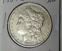 AU 1887-O MORGAN SILVER DOLLAR ABOUT UNCIRCULATED NEW ORLEANS MINT COIN 51821