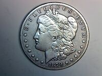 1879-CC MORGAN DOLLAR  VF CONDITION CLEANED