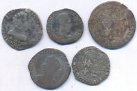 FRANCE SILVER 1500 1600 NICE 5 PIECES LOT CHOICE!