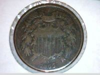 1865         TWO CENT PIECES
