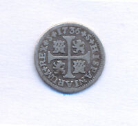 SPAIN ESPAA SEVILLA PISTAREEN CROSS 1/2 REAL 1736 FELIPE V