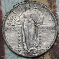KAPPYSCOINS  ID-CN405 1927 STANDING LIBERTY QUARTER AU ALMOST UNC