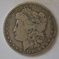 1889 O MORGAN DOLLAR GRADE