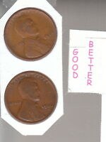 1925 D   &  1926 D   2  LINCOLN  CENTS GOODS OR BETTER RS COINS FREE SHIP