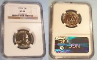 1992 P NGC MS66 WASHINGTON QUARTER 25C MS 66