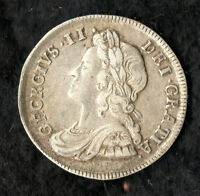 GEORGE II MAUNDY FOURPENCE SILVER 1735