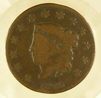 1826 MATRON HEAD LARGE CENT G/  CONDITION P25