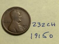 1915 D 1C BN LINCOLN CENT 232CH