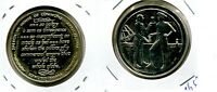 EDMUND BURKE HOUSE OF COMMONS 1774 1 OZ STERLING SILVER MEDAL ROUND 1973 8652F