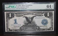 1899 $1 SILVER CERTIFICATE PMG 64 CHOICE UNCIRCULATED EPQ FR236