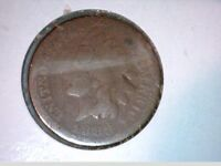 1883    INDIAN HEAD CENTS