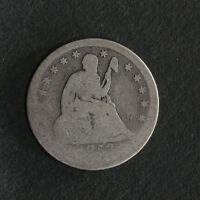 1853 P SEATED LIBERTY QUARTER GREAT DEALS FROM THE TECC BARGAIN BIN