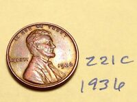 1936 LINCOLN CENT NICE DETAIL GREAT COIN WHEAT BACK PENNY 221C