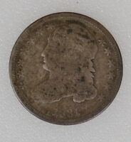 1831 CAPPED BUST SILVER DIME. GOOD OBVERSE AG REVERSE   I 3270