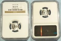 1957 D NGC MS67FT ROOSEVELT DIME 10C MS 67 FT FULL TORCH