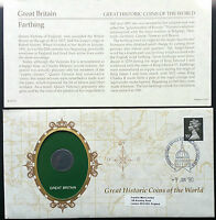 1900 GREAT BRITAIN FARTHING SEALED COIN SET FROM THE FRANKLIN MINT