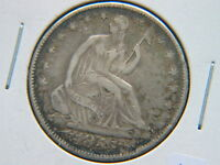1855 O ARROWS LIBERTY SEATED HALF DOLLAR NICE NEW ORLEANS TYPE COIN BETTER DATE