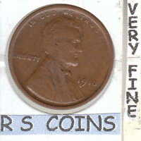 1918      FINE   LINCOLN  CENT    VERY NICE    RS COINS SHIPS FREE    1771