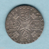 GREAT BRITAIN. 1787   GEORGE  111 SIXPENCE..   WITH HEARTS..  AVF