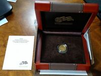 2008 W 1/10 OZ $5 GOLD BUFFALO UNCIRCULATED AMERICAN BUFFALO  W/BOX & COA